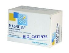 MAGNE B6 48 mg/5 mg.* 50 coated tabl. For the treatment of severe hypomagnesemia