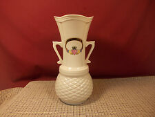 "Donegal Irish Papian Claddagh Porcelain Tyrone Vase 9"" Excellent"