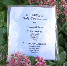 Dr Millers Holy Tea 16 BAGS=2 Month.$24.00 Best Ebay Price!