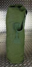Genuine British Army Green Canvas Kitbag / Duffle Bag / Seasack - Good Condition
