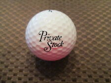 LOGO GOLF BALL-PRIVATE STOCK.....BEER......ALCOHOL....