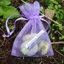 Connemara marble pebbles in bag. Tumbled. jewellery and gifts, Irish