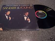 "Sandler & Young ""Live The In Person Album"" LP"