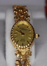 14Kt Yellow Gold Sapphire Crown Michael Anthony Ladies Watch
