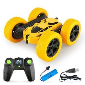 RC Double-Sided 360° Rotating Tumbling Stunt Twisting  2.4G Car Gift  Kids