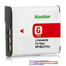 Kastar Replacement Battery for Sony NP-BG1 NP-FG1 Sony Cyber-shot DSC-H9 Camera