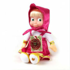 22 cm Talking singing toy doll Masha and the Bear 6 phrases + 1 song 8.6 inch