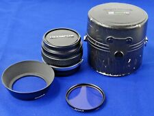 Olympus OM System G.Zuiko AUTO-W 28mm f/3.5 f3.5 Lens, Manual Focus