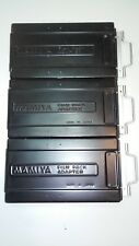Mamiya Universal Press / Rb Film Pack Adapter ( 3 film pack adapters )