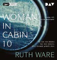 RUTH WARE - WOMAN IN CABIN 10 - GELESEN VON JULIA NACHTMANN   CD NEW