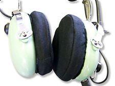 Aviation Pilot Headset Cotton Ear Covers for David Clark Bose Skylite PilotUSA