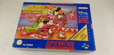 ♕* Super Nintendo * The Great Circus Mystery Mickey * SNES * English version! *