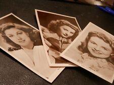 Picturegoer Cards Series W Actors Actresses Film Scenes RP B&W Drop down Menu