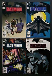 Batman #404-407 - Year One, Frank Miller, David Mazzucchelli, DC Comics 1986/7