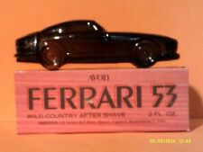 Vtg 1974 Avon Ferrari 53 Wild Country Aftershave 2 Oz-New In Box-Free Shipping