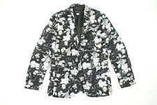 INC INTERNATIONAL CONCEPTS FLORAL FLOWERS LARGE SLIM BLAZER SPORT COAT JACKET