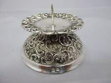 schöner Leuchter Silber 800 punziert 102g Deutsch
