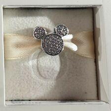 Clip Pandora Pave Head/Cobblestone Head Mickey Disneyland Paris 791931CZ