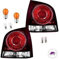 VW Polo 9N3 9N Rückleuchten Heckleuchten Set Links Rechts 05-09 Rot +BIRNEN