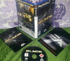 BLACK - PLAYSTATION 2 PS2  - ITALIANO  - COME NUOVO - Gioco Game