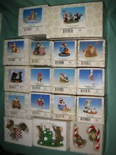 Fitz And Floyd Charming Tails Mice Figures Lot Of 18 Vg Shape