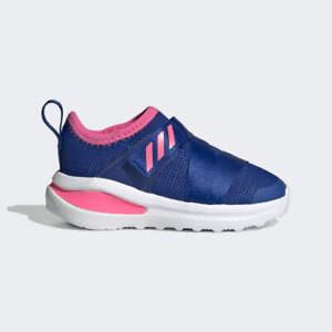 Scarpe Sneakers Neonato Adidas Fortarun X - Colore RoyalBlue/SolarPink/CloudWhit