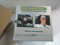 SCALEXTRIC C3148A MERCEDES GP PETRONAS MICHALE SCHUMACHER PRESENTATION  BOX