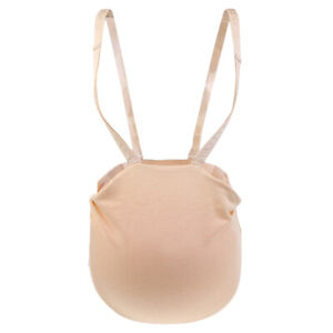 Fake Pregnancy Silicone Belly Cross Dress Costume Photo Props
