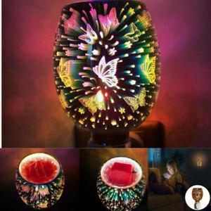 Mosaic Electric Plug In LED Aroma Diffuser Lamps Wax Melt Oil Burner Wax Warmer