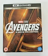 Avengers: 3-Movie Collection 4K [Blu-ray] [Region Free]