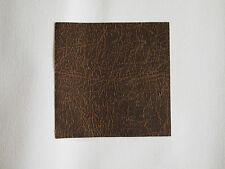 leatherette fabric thin squares  7 x 7 inch creased effect