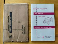 MASSEY FERGUSON MF 35 X TRACTORS OPERATORS INSTRUCTION OWNER MANUAL SUPERB COND