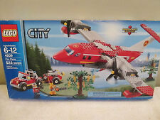 NEW Lego City 4209 Fire Plane 522 Pcs Building Block Toy Ages 6+