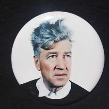 DAVID LYNCH Blue Hair BIG BUTTON Twin Peaks