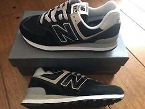 New Balance 574 Black Athletic Shoes