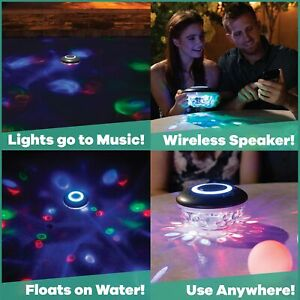 Game Bluetooth Waterproof Floating Speaker & Lightshow