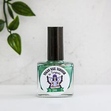 Anne Metallic Green Nail Varnish / Polish vegan cruelty free handmade