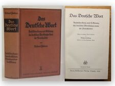 Petrun Das Deutsche Wort 1933 Nachschlagewerk Fremdwörter Wörterbuch xy
