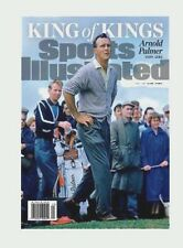 Sports Illustrated Cover - Arnold Palmer - Oct 3,16 Matted Off White- The King