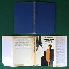 Georges SIMENON - GERMOGLIANO SEMPRE I NOCCIOLI , Mondadori (1° Ed 1971) Libro