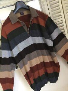 ⚓️ PAUL & SHARK ⚓️ Gr. 3XL ∞ Herren Pullover LA-Poloshirt ∞ feinste Wolle