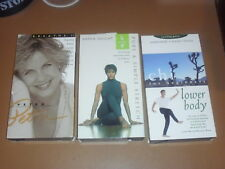 3 Stretch, Harmonize & Relax Workout VHS Tapes, Petra BREATH II, Chi Lower Body