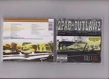 Cd hiphop rap - 2pac + Outlawz-STILL Rise (1999)