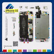 Magnetic Screw Mat Repair Pad Tool Guide Screw Holder Mat for iPhone 5S  b396