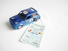 Renault R 5 r5 Turbo Rallye Tour de Corse Saby Tilber #18 Solido 1023 1:43 boxed