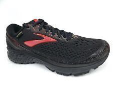 Brooks Ghost 11 Gore-Tex Trail Running Womens Shoes SZ 8.0 M, Black/Pink  16222