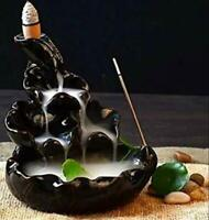 Nantan polyresin Decorative Smoke backflow Incense BurnerIncense Holder with 10