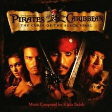 Pirates Of The Caribbean - Curse of The Black Pearl Original Soundtrack NEW CD