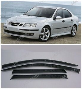 For Saab 9-3 Sd | 2002-2007 | Deflectors Windows Visors Rain Sun Vent Guard
