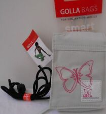 GOLLA Bags for Generation Mobile Smart Phone Camera Pouch Gray Pink Butterfly